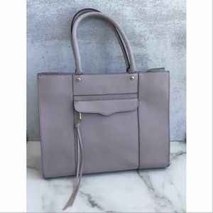 Rebecca Minkoff lilac shoulder bag tote